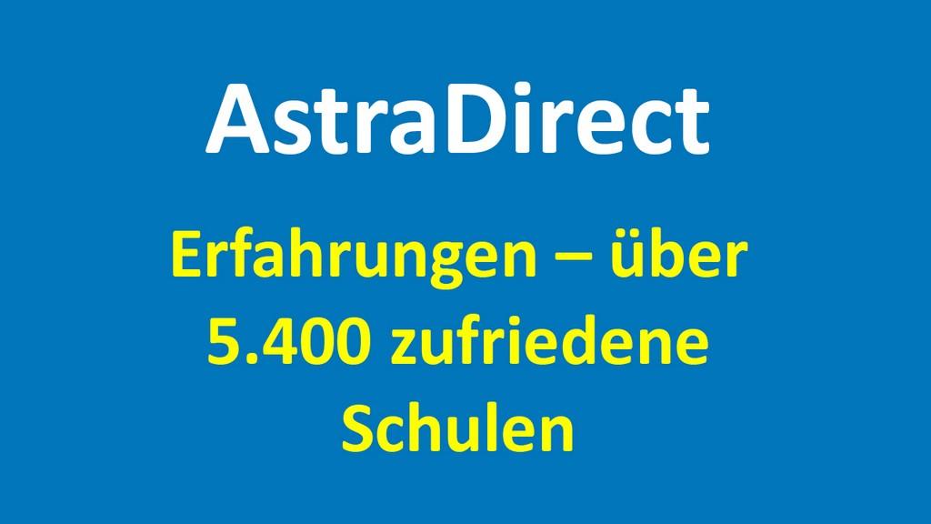 AstraDirect - Bewertungen und Erfahrungen - AstraDirect